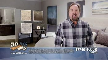 50 Floor TV Spot, 'Upgrade Your Home' Featuring Richard Karn