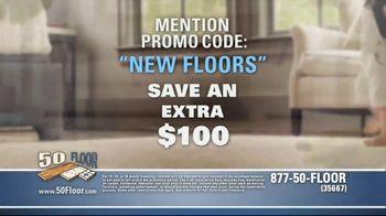 50 Floor TV Spot, 'Upgrade Your Home' Featuring Richard Karn - Thumbnail 6