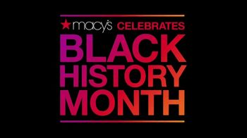 Macy's TV Spot, 'BET: Black History Month: Stars Shine' - Thumbnail 1