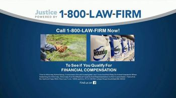 1-800-LAW-FIRM TV Spot, 'Roundup' - Thumbnail 2