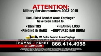 Thomas J. Henry Injury Attorneys TV Spot, 'Attention: Military Service Members' - Thumbnail 2