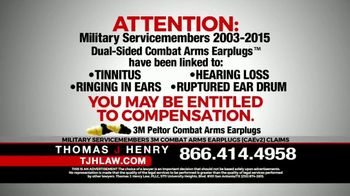 Thomas J. Henry Injury Attorneys TV Spot, 'Attention: Military Service Members' - Thumbnail 3