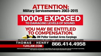 Thomas J. Henry Injury Attorneys TV Spot, 'Attention: Military Service Members' - Thumbnail 4