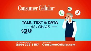 Consumer Cellular TV Spot, '20 Dollars' - Thumbnail 9