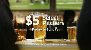 Buffalo Wild Wings $5 Select Pitchers TV Spot, 'Half-Full or Half-Empty?' - Thumbnail 10