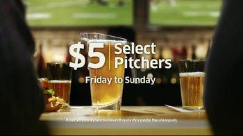 Buffalo Wild Wings $5 Select Pitchers TV Spot, 'Half-Full or Half-Empty?' - Thumbnail 9