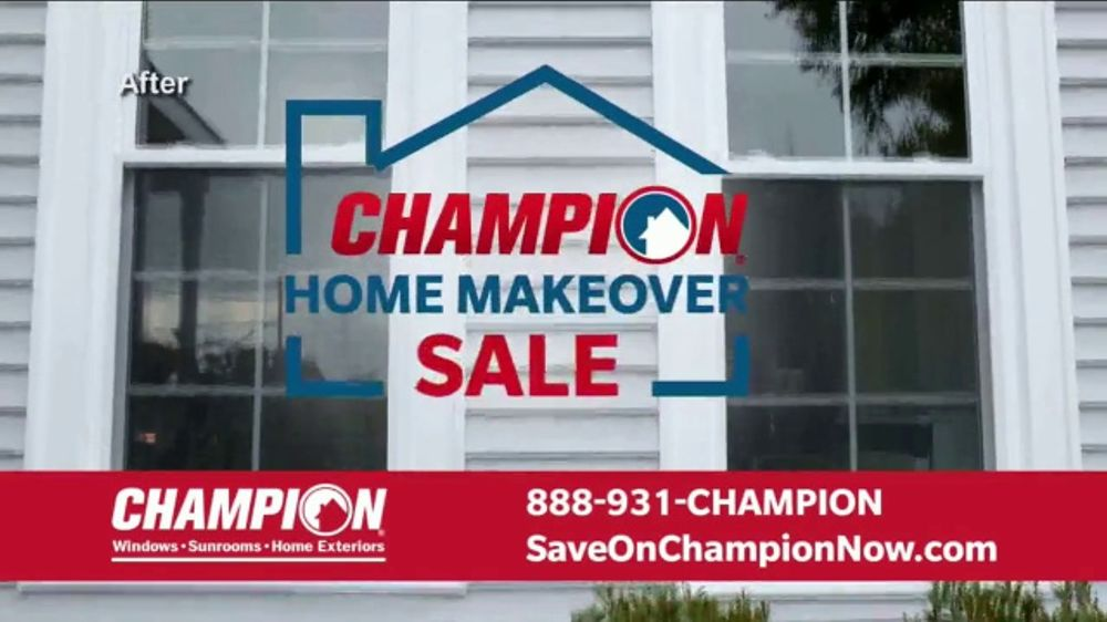 d9710a75bd5302 Champion Windows Home Makeover Sale TV Commercial