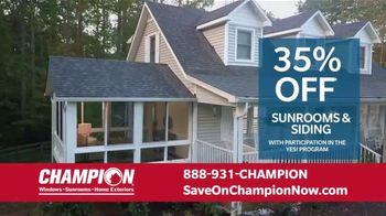 Champion Windows Home Makeover Sale TV Spot, 'Save Big and Transform' - Thumbnail 5