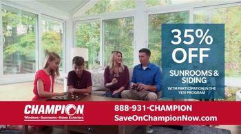 Champion Windows Home Makeover Sale TV Spot, 'Save Big and Transform' - Thumbnail 6