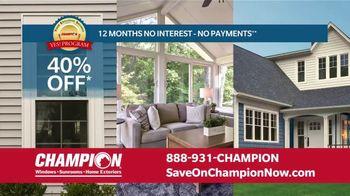 Champion Windows Home Makeover Sale TV Spot, 'Save Big and Transform' - Thumbnail 7