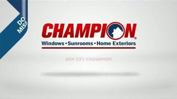 Champion Windows Home Makeover Sale TV Spot, 'Save Big and Transform' - Thumbnail 9
