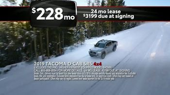 Toyota Washington's Birthday Sales Event TV Spot, 'In the Snow' [T2] - Thumbnail 4