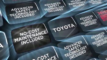 Toyota Washington's Birthday Sales Event TV Spot, 'No Additional Cost Benefits' [T2] - Thumbnail 1