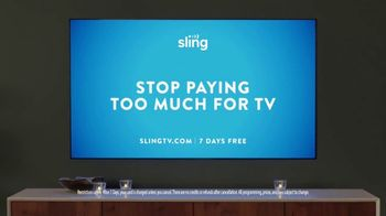 Sling TV Spot, 'Set the Mood' Featuring Nick Offerman, Megan Mullally - Thumbnail 10