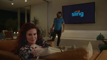 Sling TV Spot, 'Set the Mood' Featuring Nick Offerman, Megan Mullally - Thumbnail 7