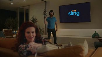 Sling TV Spot, 'Set the Mood' Featuring Nick Offerman, Megan Mullally - Thumbnail 8