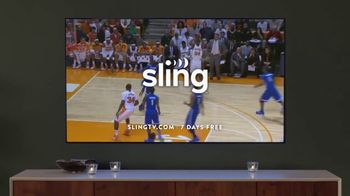 Sling TV Spot, 'Set the Mood' Featuring Nick Offerman, Megan Mullally - Thumbnail 9