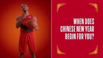 NBA TV Spot, '2019 Chinese New Year: Begin' Featuring Damian Lillard - 21 commercial airings