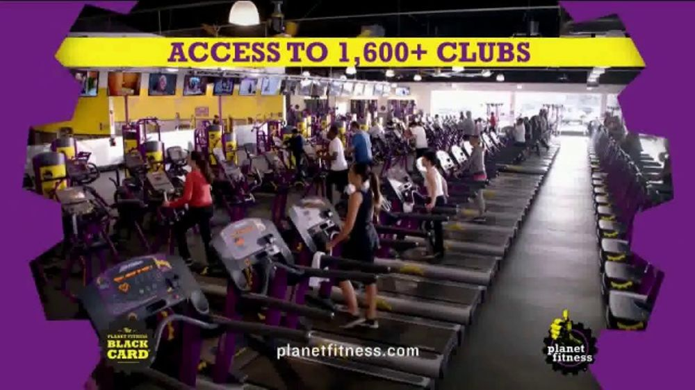 Planet Fitness Zero Down Black Card Sale TV Commercial, 'No Commitment'