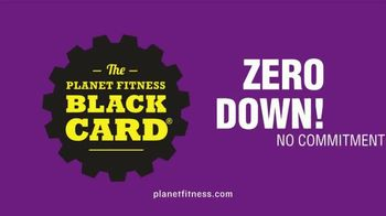 Planet Fitness Zero Down Black Card Sale TV Spot, 'No Commitment' - Thumbnail 3