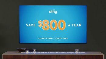 Sling TV Spot, 'Mood: Savings' Featuring Nick Offerman, Megan Mullally - Thumbnail 10