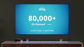 Sling TV Spot, 'Mood: SVOD' Featuring Nick Offerman, Megan Mullally - Thumbnail 10