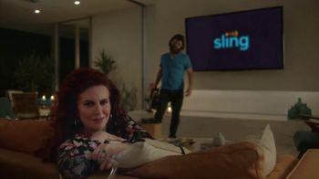 Sling TV Spot, 'Mood: SVOD' Featuring Nick Offerman, Megan Mullally - Thumbnail 7