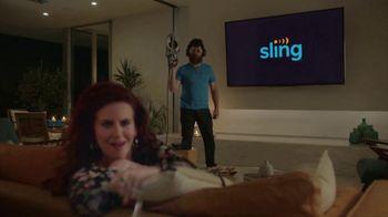 Sling TV Spot, 'Mood: SVOD' Featuring Nick Offerman, Megan Mullally - Thumbnail 8