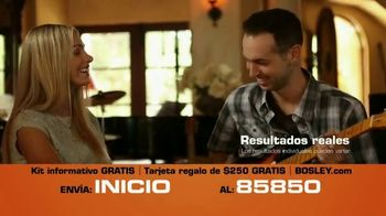 Bosley TV Spot, 'Cabello real' [Spanish] - Thumbnail 4