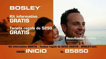 Bosley TV Spot, 'Pelo real' [Spanish]