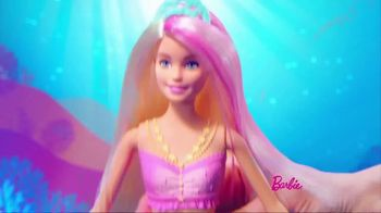 Barbie Dreamtopia Sparkle Lights Mermaid TV Spot, 'So Magical' - Thumbnail 5