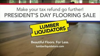 Lumber Liquidators Presidents Day Flooring Sale TV Spot, 'Tax Refund' - Thumbnail 10