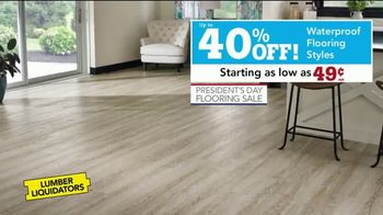 Lumber Liquidators Presidents Day Flooring Sale TV Spot, 'Tax Refund' - Thumbnail 3