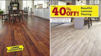 Lumber Liquidators Presidents Day Flooring Sale TV Spot, 'Tax Refund' - Thumbnail 4