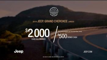 Jeep Presidents Day Sales Event TV Spot, 'Most-Awarded: 2019 Grand Cherokee Laredo' [T2] - Thumbnail 7