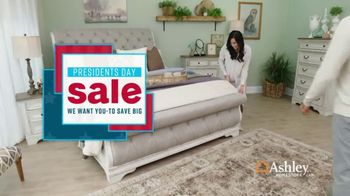 Ashley HomeStore Presidents Day Sale TV Spot, 'We Want You to Save Big' Song by Midnight Riot - Thumbnail 2