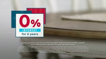 Ashley HomeStore Presidents Day Sale TV Spot, 'We Want You to Save Big' Song by Midnight Riot - Thumbnail 7