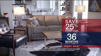 La-Z-Boy Presidents Day Sale TV Spot, 'Special Piece: Save 25 Percent' - Thumbnail 6