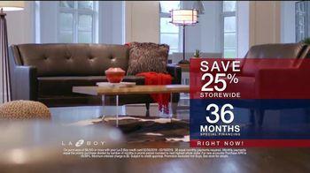 La-Z-Boy Presidents Day Sale TV Spot, 'Special Piece: Save 25 Percent' - Thumbnail 7