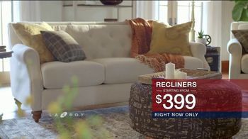 La-Z-Boy Presidents Day Sale TV Spot, 'Special Piece: Recliners: No Financing' - Thumbnail 6