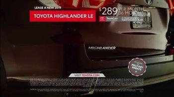 2019 Toyota Highlander LE TV Spot, 'Prom Night' [T2] - Thumbnail 6