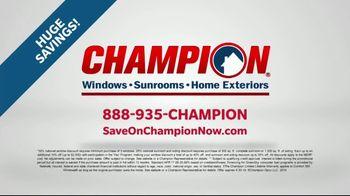 Champion Windows Home Makeover Sale TV Spot, 'Comfort 365' - Thumbnail 7
