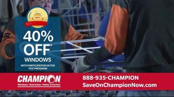 Champion Windows Home Makeover Sale TV Spot, 'Comfort 365' - Thumbnail 4
