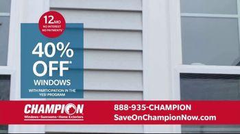 Champion Windows Home Makeover Sale TV Spot, 'Comfort 365' - Thumbnail 6