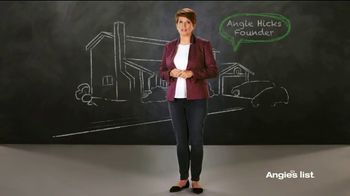 Angie's List TV Spot, 'I Use Featuring Angie Hicks'