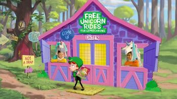 Lucky Charms TV Spot, 'St. Patrick's Day: Unicorn Traps' - Thumbnail 3