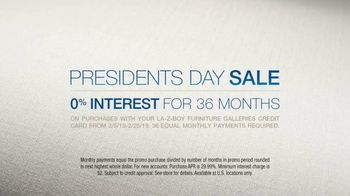 La-Z-Boy Presidents Day Sale TV Spot, 'Beautiful Room Ingredients' - Thumbnail 9
