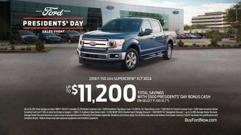 Ford Presidents Day Sales Event TV Spot, 'Business Up Front' Song by Jerry Reed [T2] - Thumbnail 9