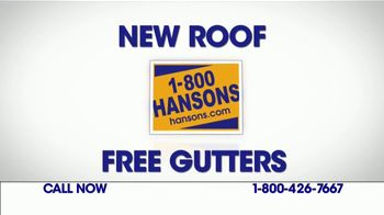 1-800-HANSONS TV Spot, \'New Gutter System\'