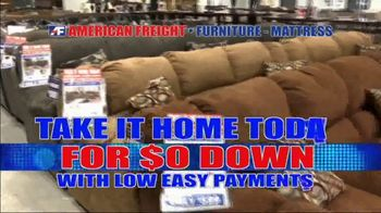 American Freight Savings by the Truckload TV Spot, 'Zero Down: Whole House' - Thumbnail 3